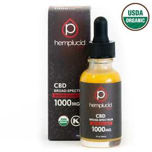 Hemplucid Zero Broad-Spectrum CBD Water Soluble 1000mg