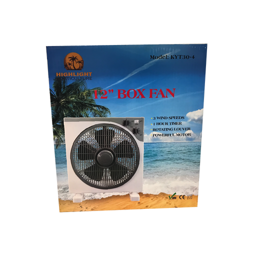 "BLT 12"" Box Fan"