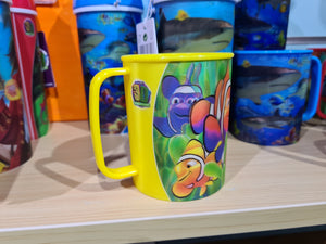 3d clown fish cup