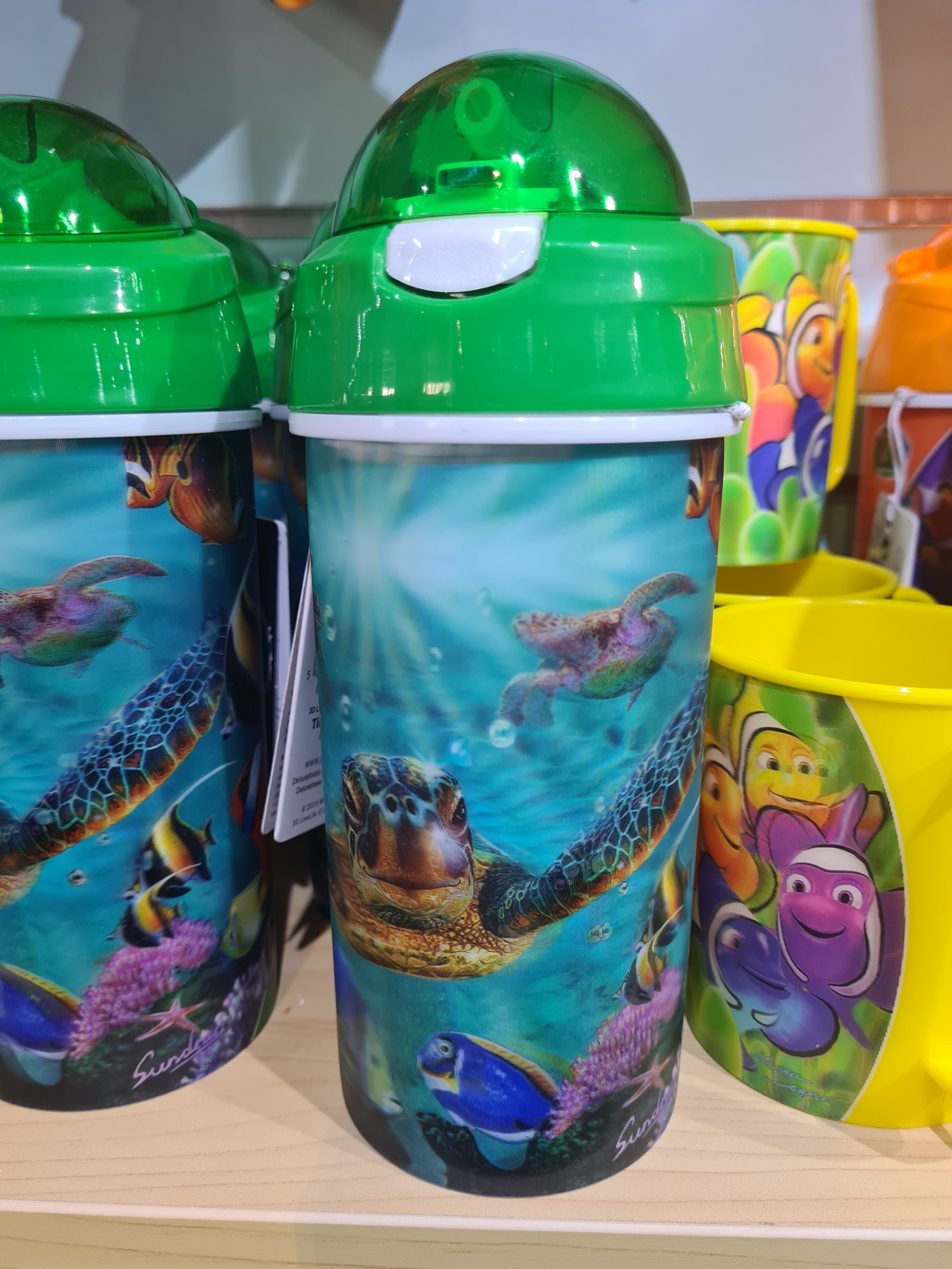 3d turtle drinking bottle