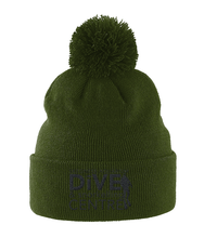Load image into Gallery viewer, Pom Pom Beanie Dive Logo