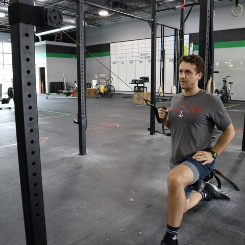 Ancore trainer being used by an athlete at the gym