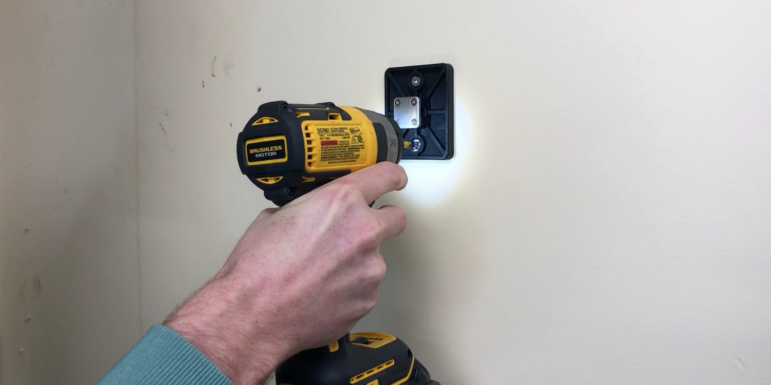 how to install the ancore wall mount product guide instructions