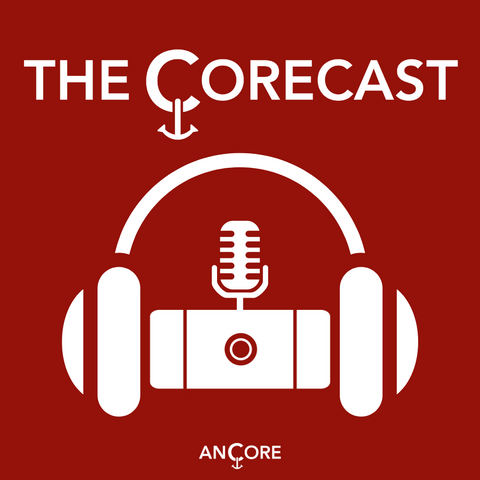 the corecast logo