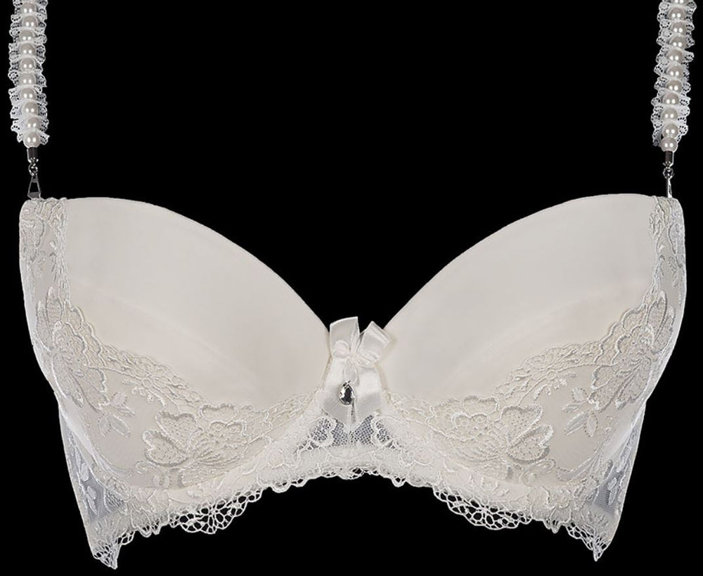 Royal Wedding Blessing Push Up Bra Ecru V6851