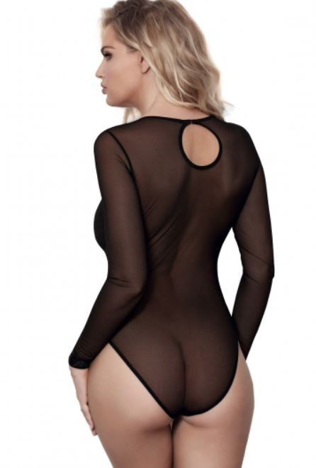 Miami Vibe LS Bodysuit Black V8490