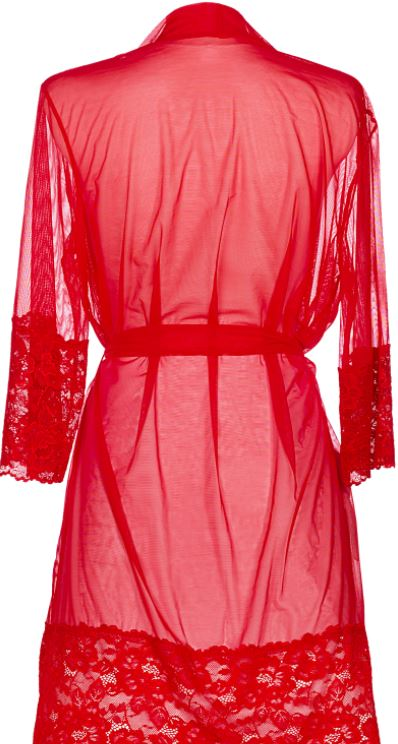 Selina Robe Red
