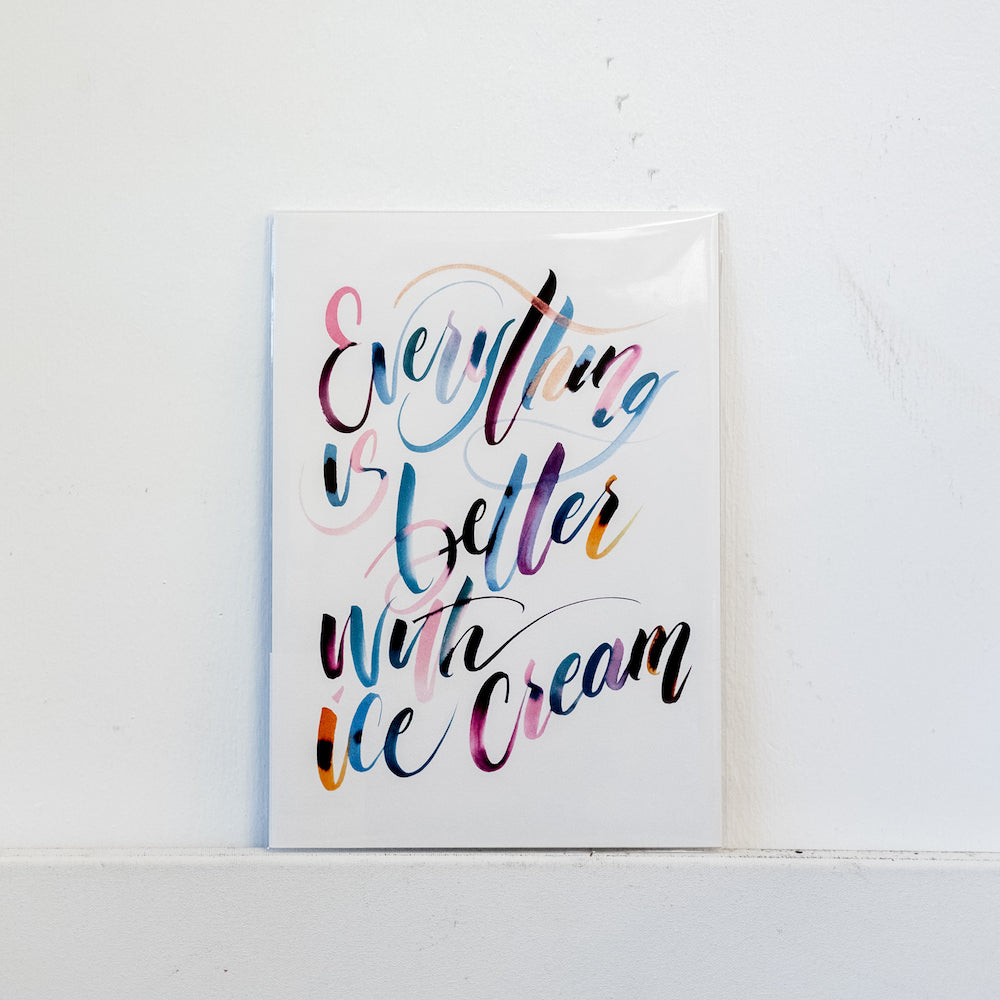 Ice Cream Print by The Letter J Supply