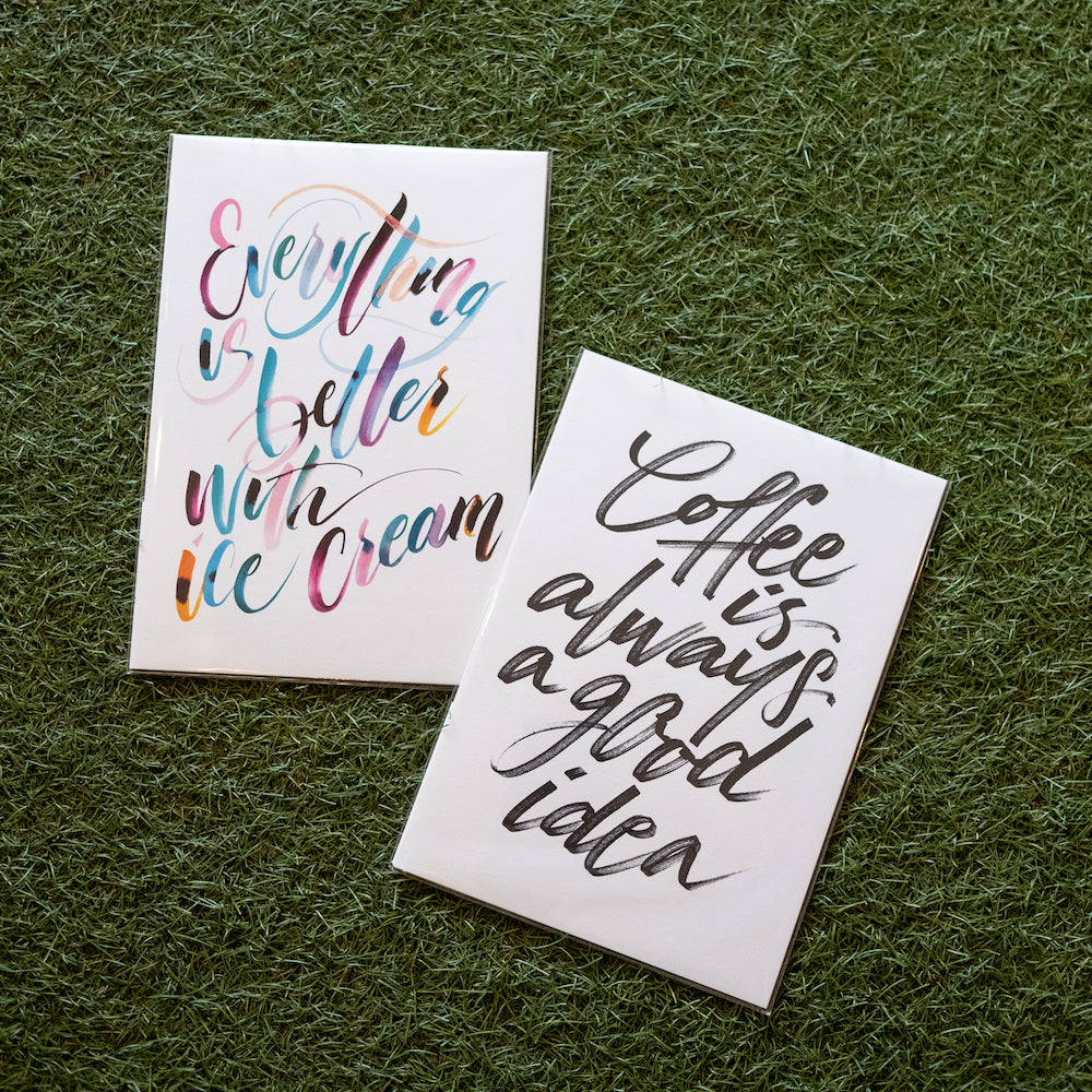 Coffee Print by The Letter J Supply