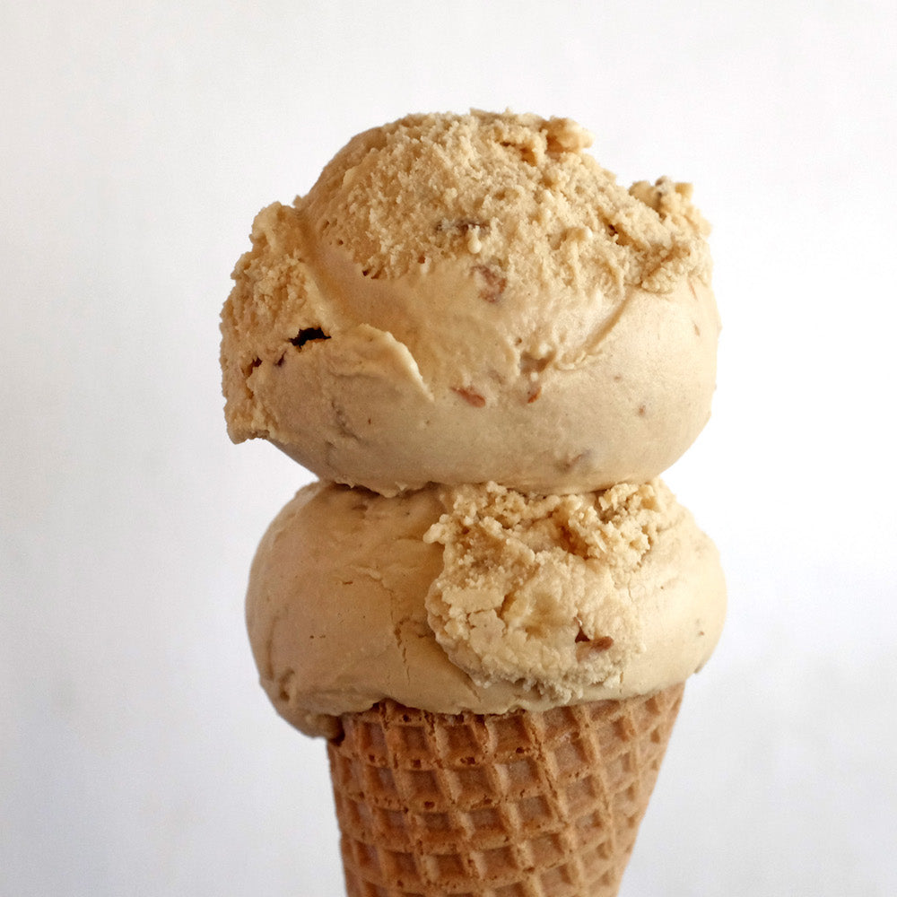 Butterscotch Almond Ice Cream Pint