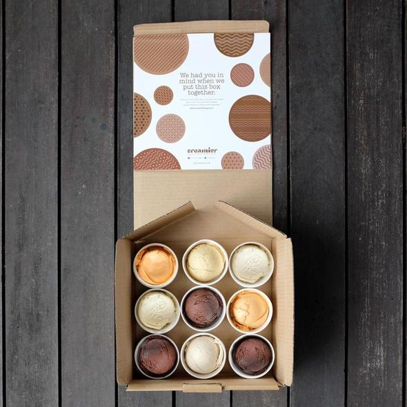 The Creamier Happiness Box (Petite - 9 Cups)