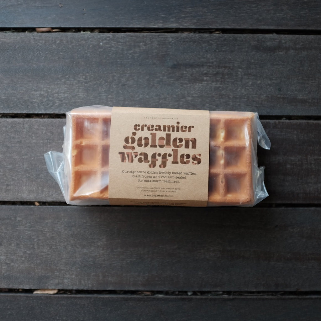Creamier Golden Waffles (Online Exclusive)