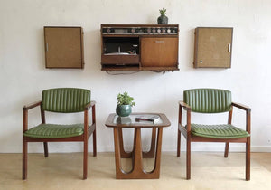 Mid-Century General Electric Hi-Fi Wall Mount Stereo