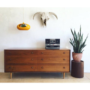 Mid-Century Six Drawer Dresser by Robert Baron