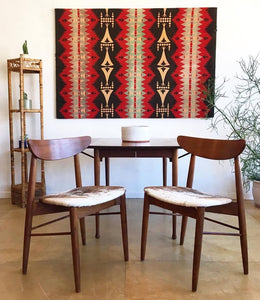 Mid-Century Danish Style Table & Chairs