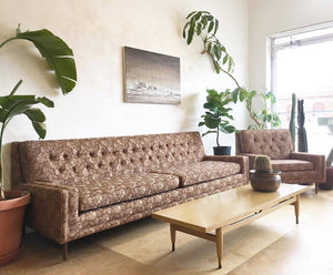 Mid-Century Sofa & Chair Set