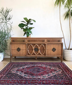 Long Vintage Moroccan Style Dresser