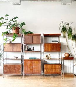 Mid-Century Large Wall Unit