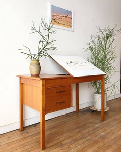 Danish Teak Art Desk