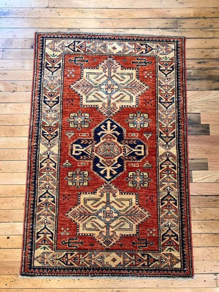 Hand Knotted Rug 3