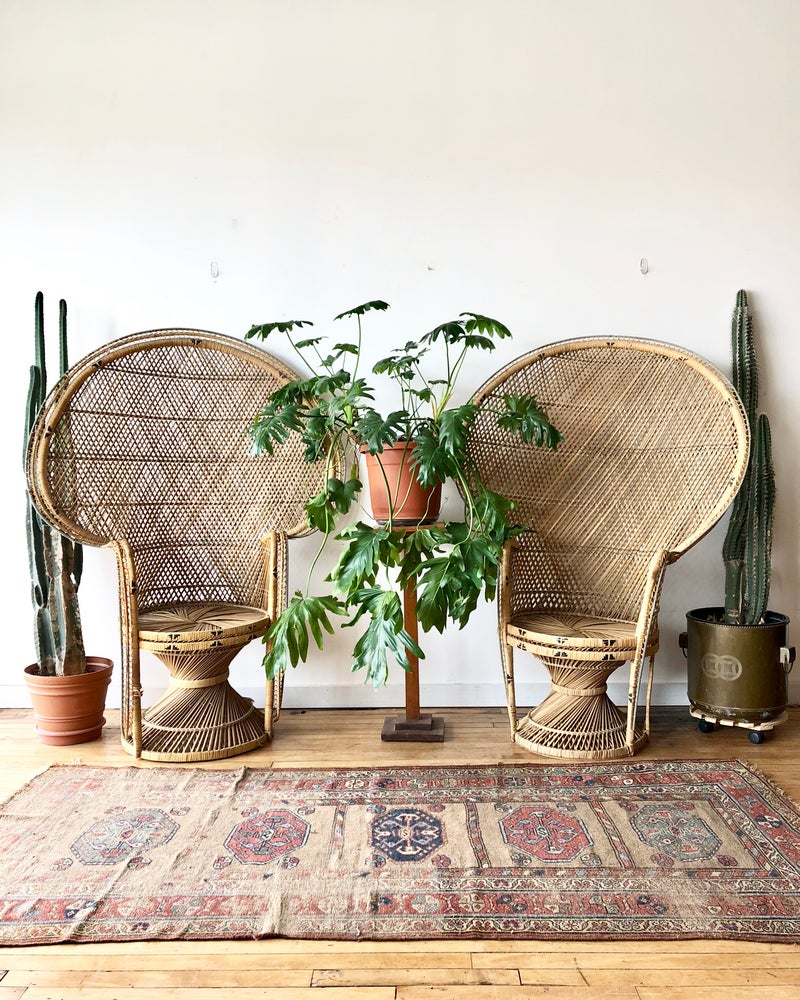 Vintage Peacock Chairs