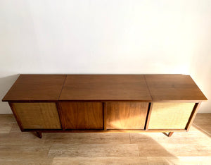 Mid-Century Stereo Converted Credenza