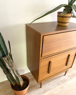 Tall Mid-Century Dresser with four drawers