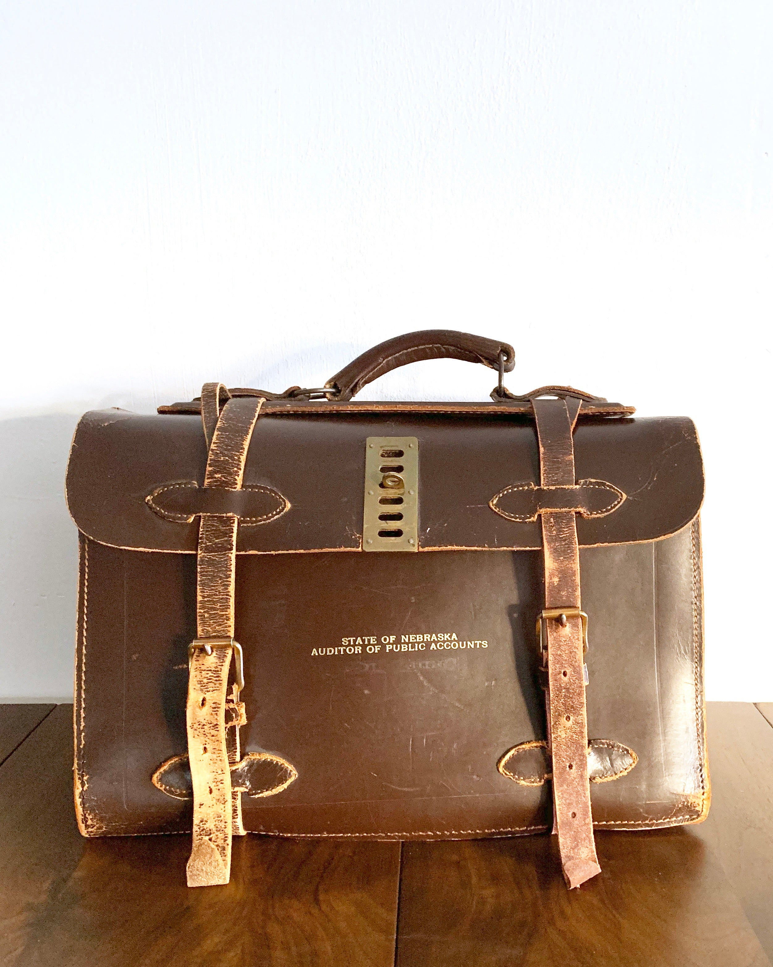 Vintage Leather Attaché