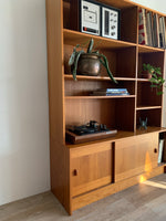 Vintage Teak Wall Unit / Shelf