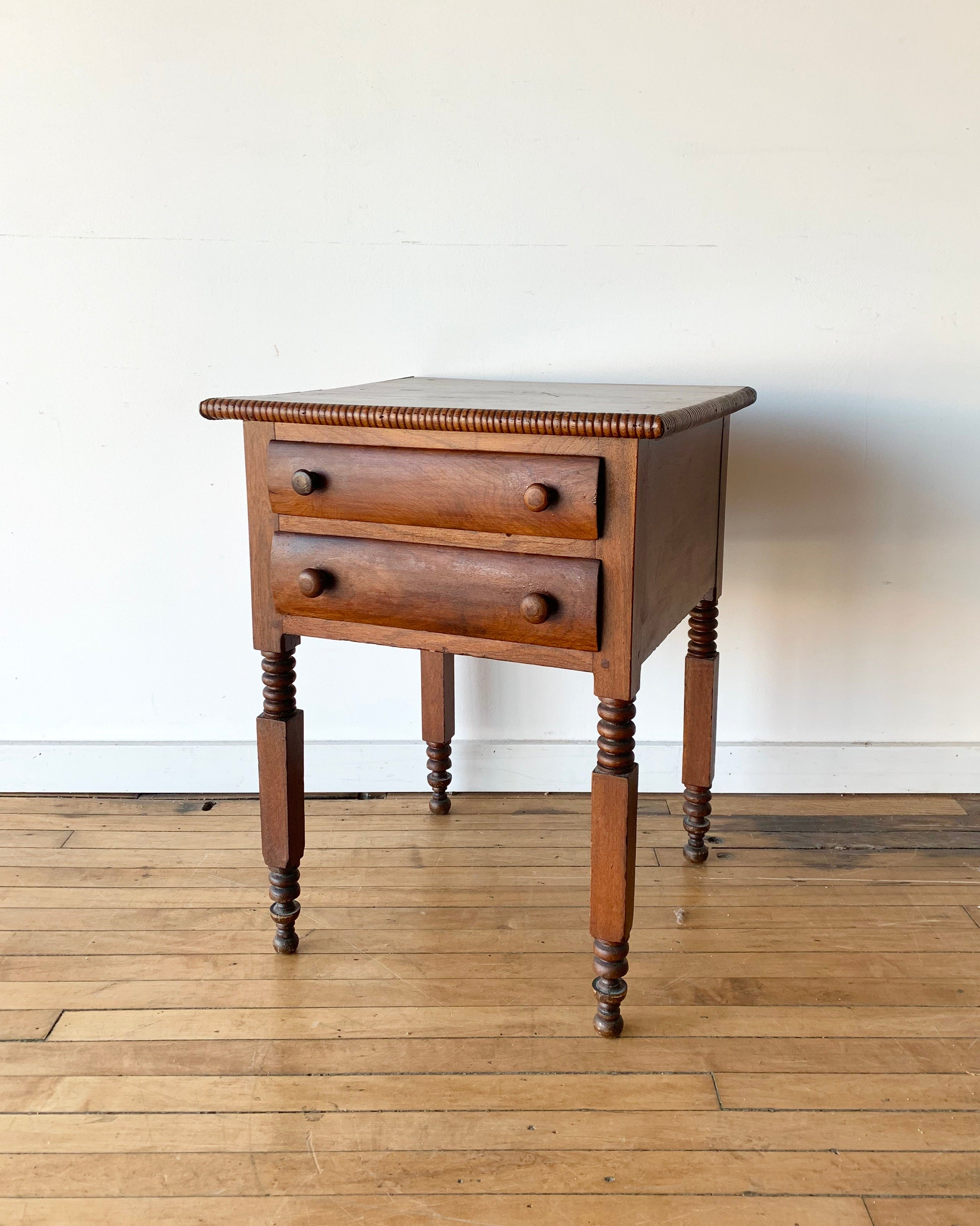 Vintage Hall Table With Drawers