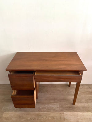 Mid-Century Desk with Wood Top