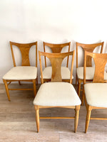 Set of Six Mid Century Chairs
