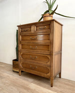 Vintage Five Drawer Dresser