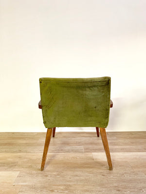 Vintage Armchair in Green