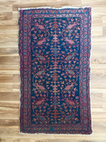 Vintage Hand Knotted Rug #10