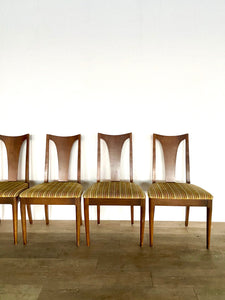 Set of Four Broyhill Brasilia Dining Chairs