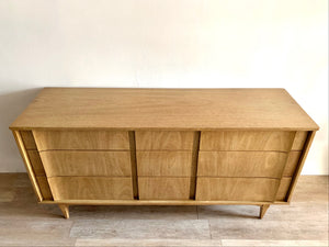 Mid-Century Nine Drawer Dresser