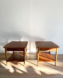 Pair of Mid-Century End tables by Lane