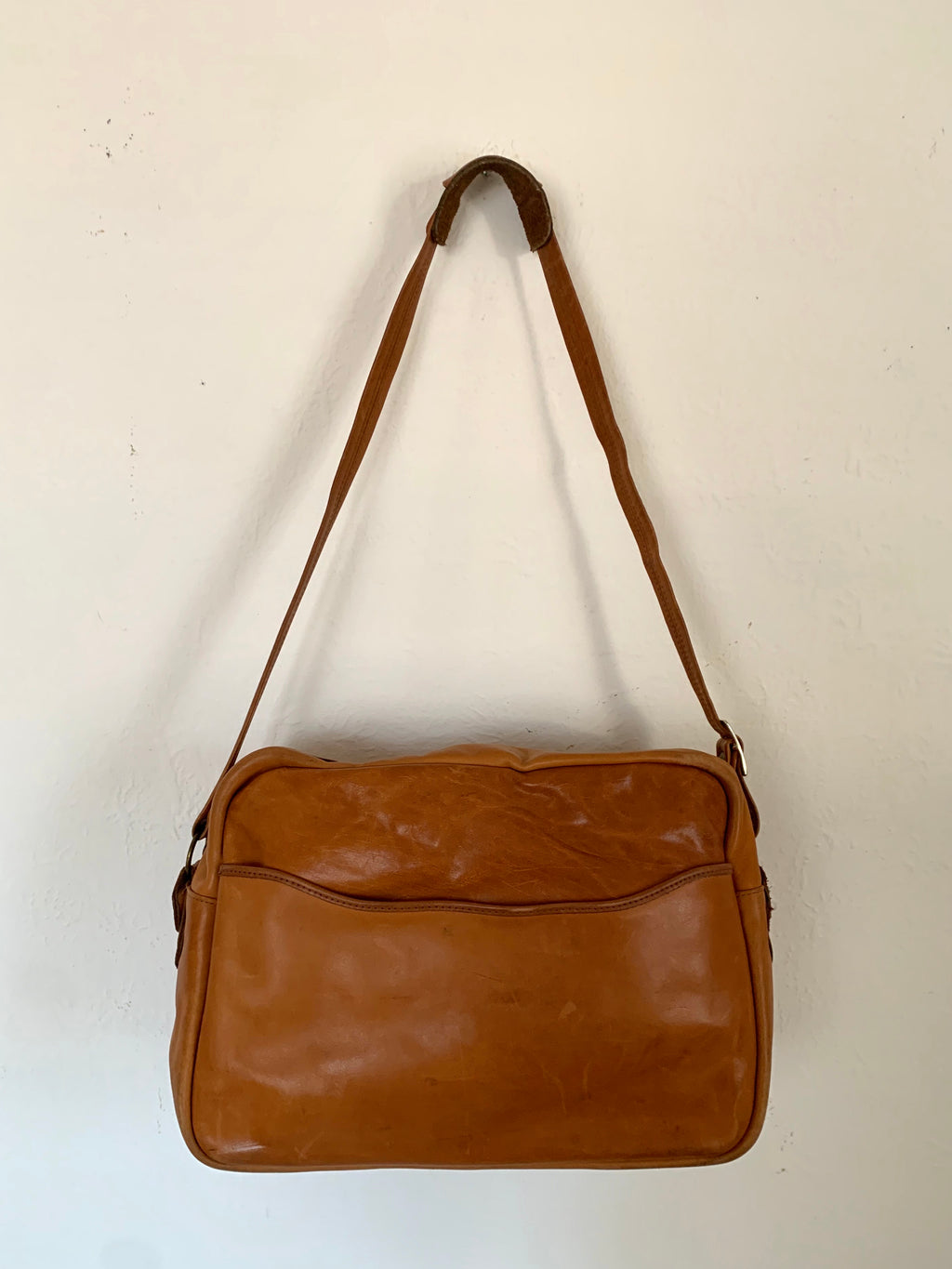 Vintage Leather Travel Bag