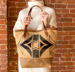 The Linda Tote in Pendleton Wool