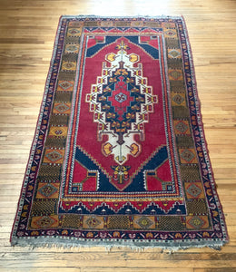 Vintage Hand Knotted Rug #15