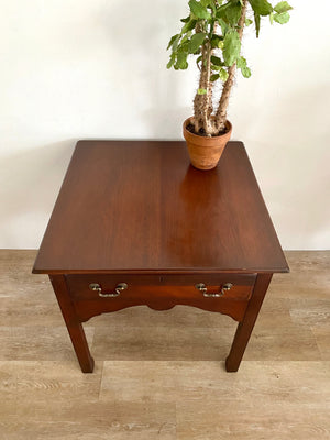 Vintage Large Side Table by Drexel