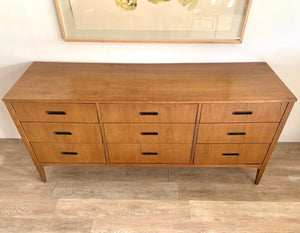 Nine Drawer Mid Century Dresser