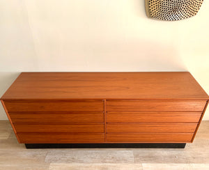 Mid-Century Dresser in Teak by Westnofa of Norway