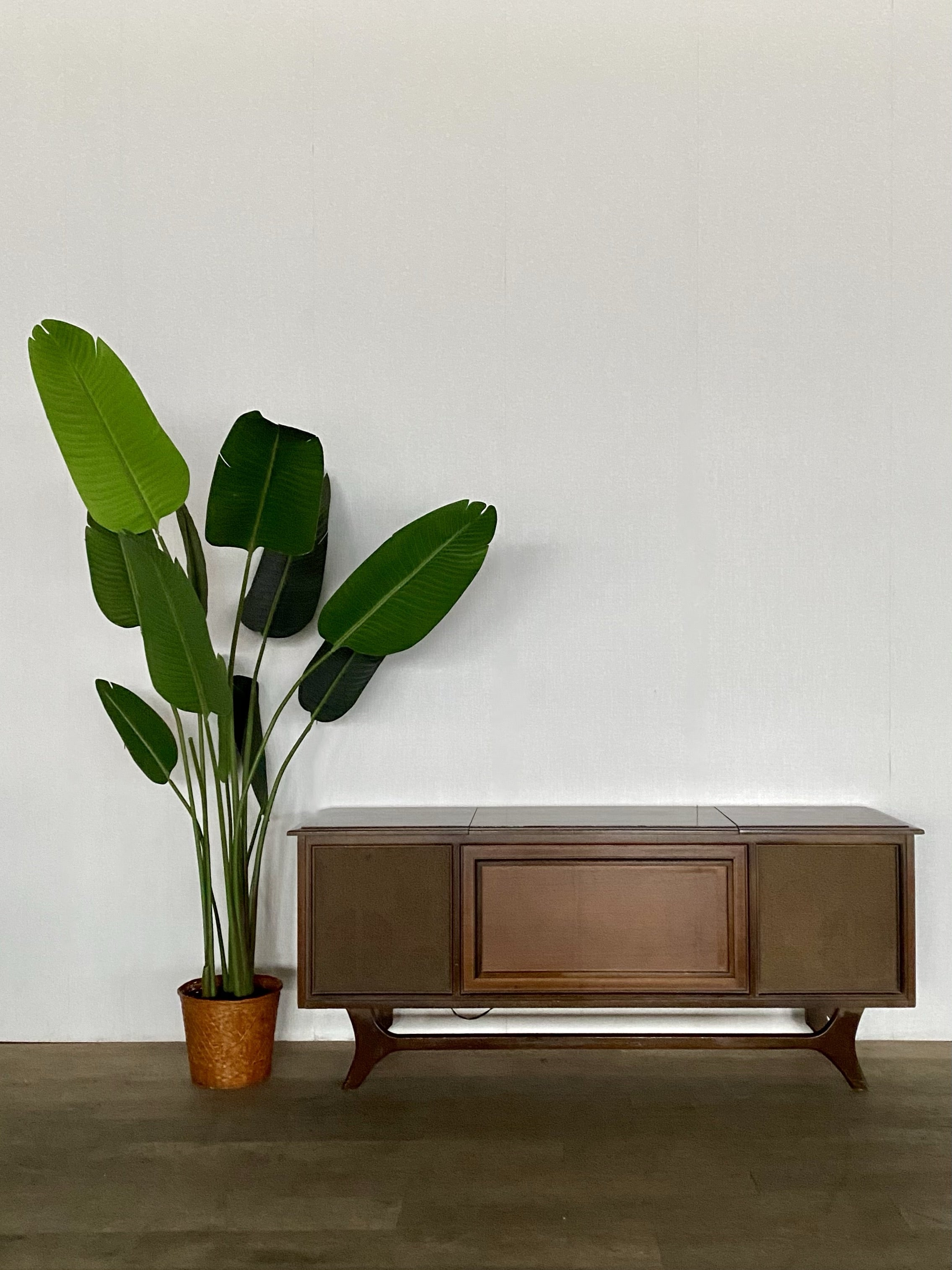 Vintage Mid-Century Stereo Console