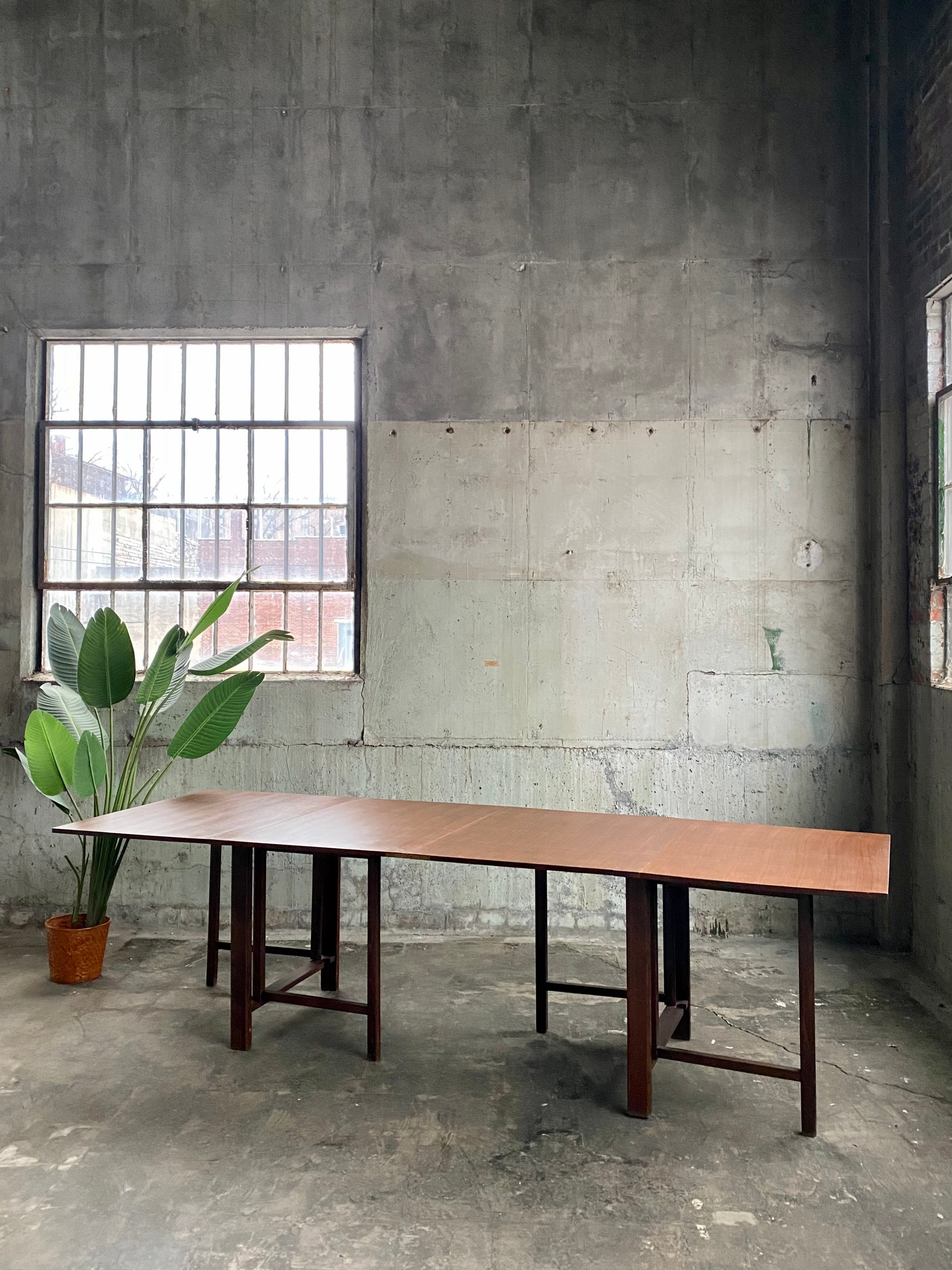 Mid Century Danish Modern Maria Table attributed to Bruno Mathsson