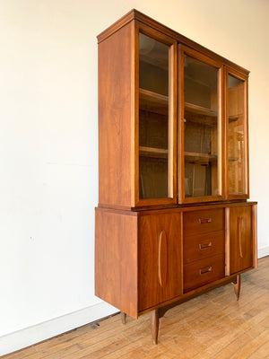 Mid-Century Hutch with Surfboard Detail