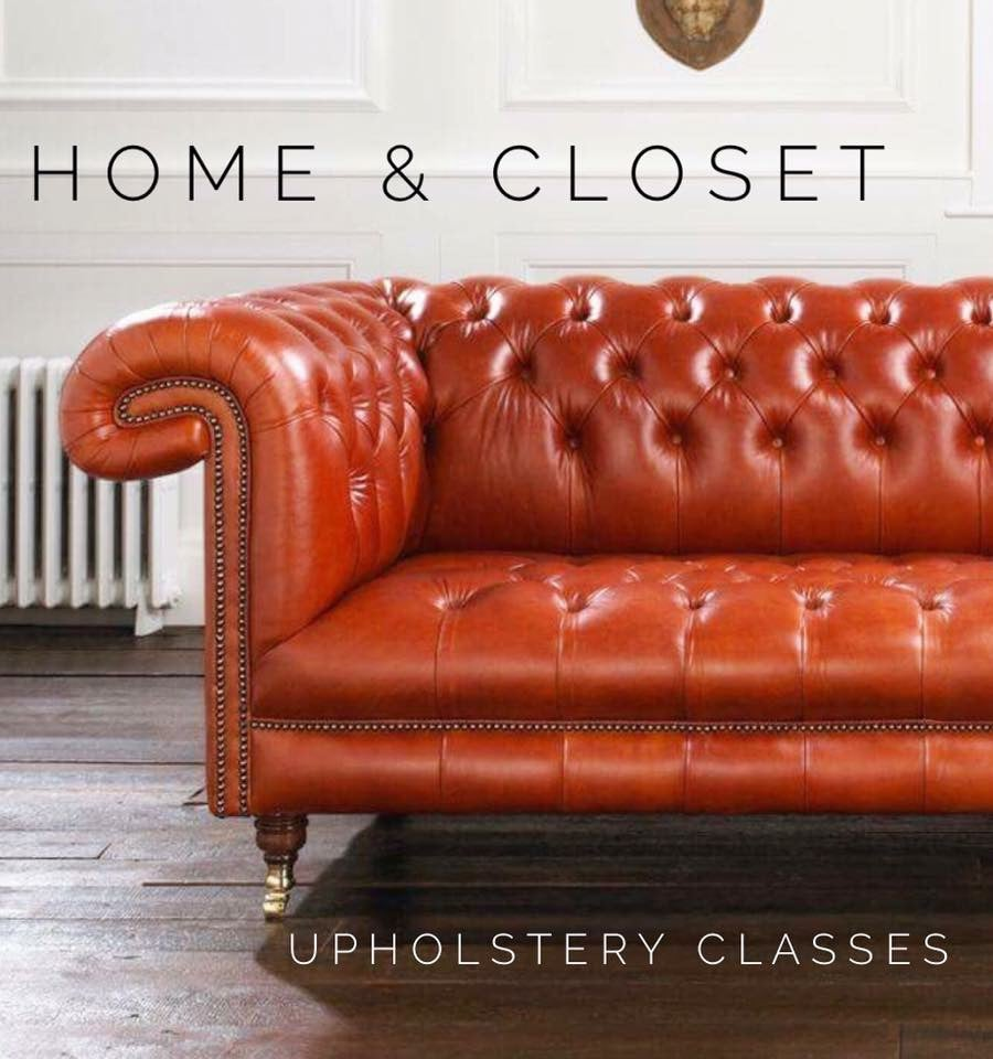 November Upholstery Class: Thursday 5:30-8:00