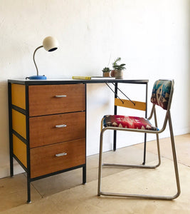 George Nelson Steelframe Desk by Herman Miller