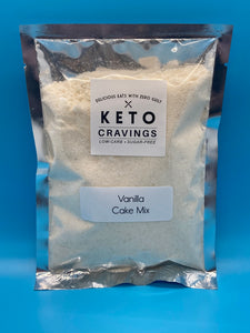 Keto Cravings Cake Mixes